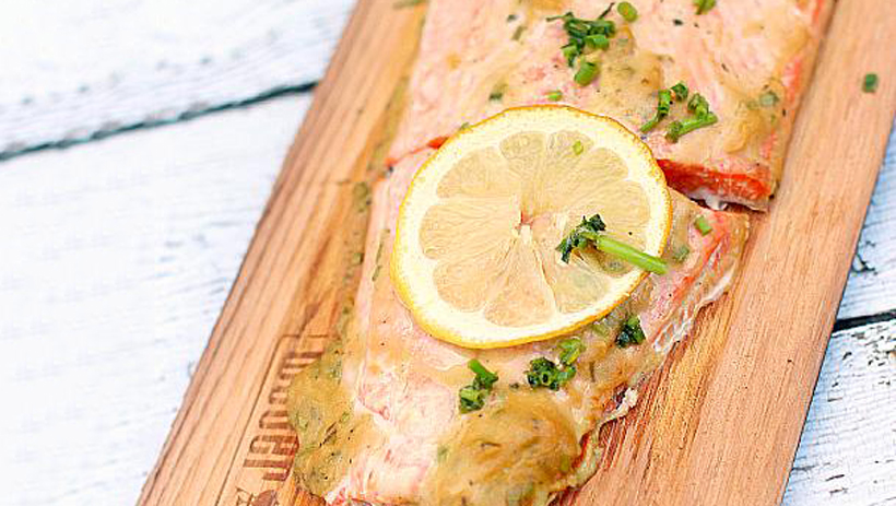 Honey Dijon Plank Salmon photo 1