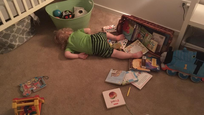Toddler Tries a Bed 3C