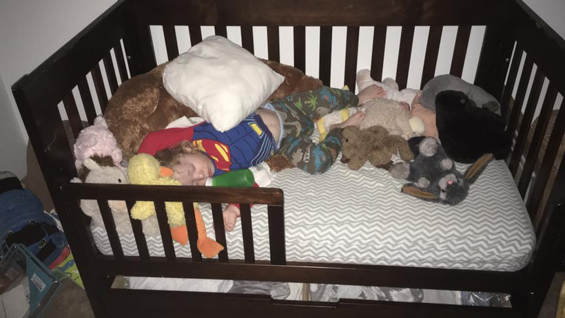 Toddler Tries a Bed 7A