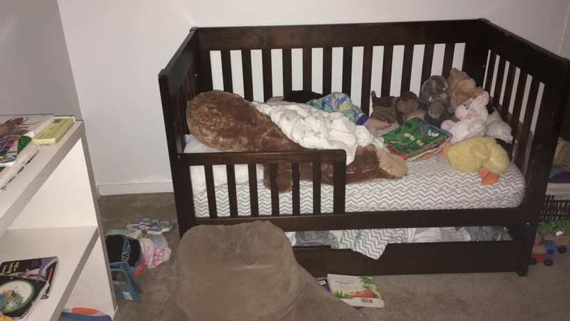 Toddler Tries a Bed 9A