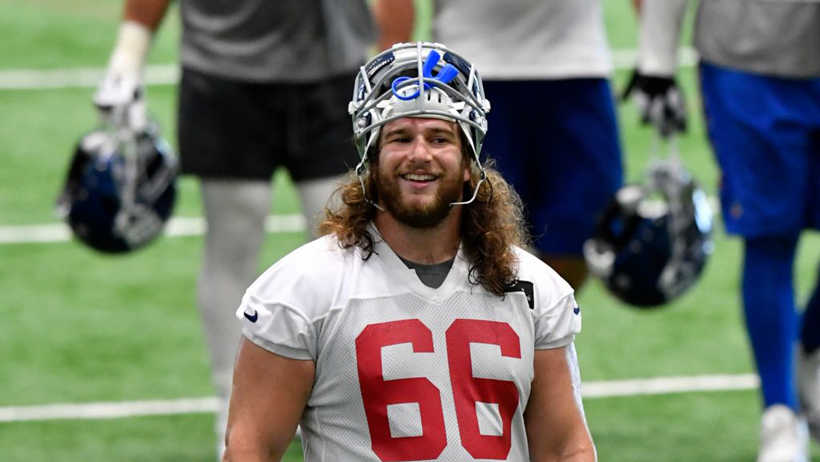 Interview with Jewish NY Giants Tackle Adam Bisnowaty photo
