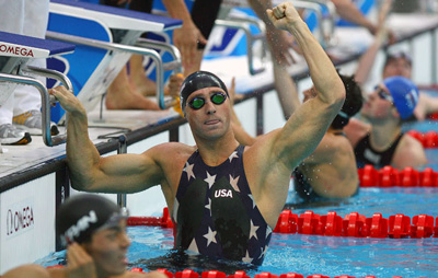 Interview with swimming gold medalist Jason Lezak photo