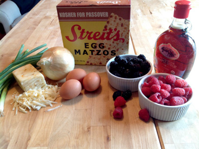 Kicking breakfast up a notch—with matzoh! photo 2