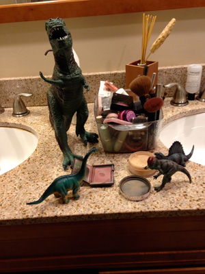 Dinosaur Chanukah photo 2