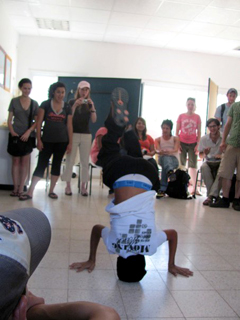 Breakdancing in Kiryat Gat photo 2