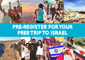 Pre-register now for Birthright Israel trips photo