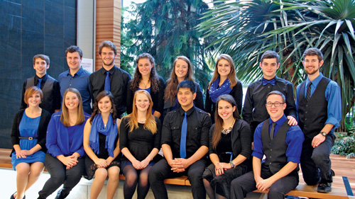 Jewish a cappella on campus photo 3