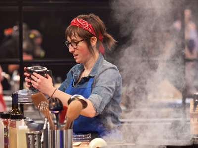Stephanie Goldfarb on 'America's Best Cook' photo 1