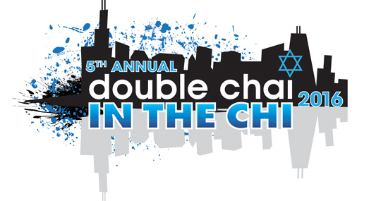 Double Chai in the Chi 2016 logo