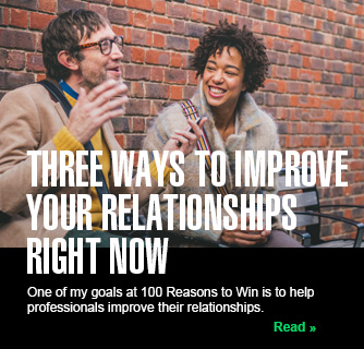 Three Ways to Improve Your Relationships Right Now slide